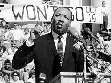 MLK on Moratorium Day 1969