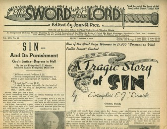 1954 Sword of the Lord